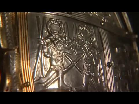 Sutton Hoo ship burial helmet Minelab 34 Channel clip2