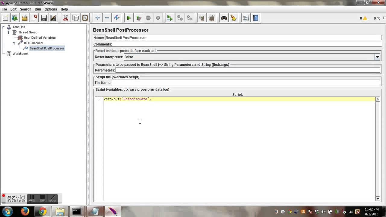 Read response data using HTTP sampler in Jmeter