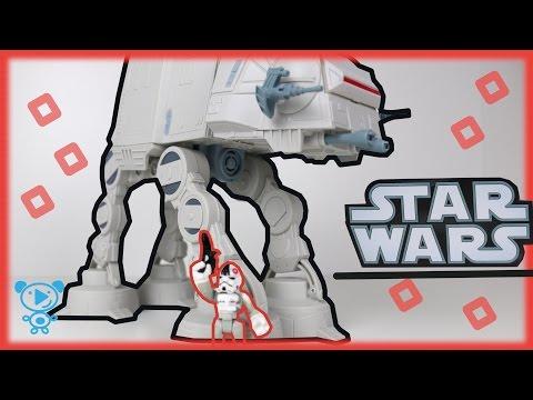 Star wars toys  video for kids Star Wars Video for Children in Stop Motion 4k Star wars set
