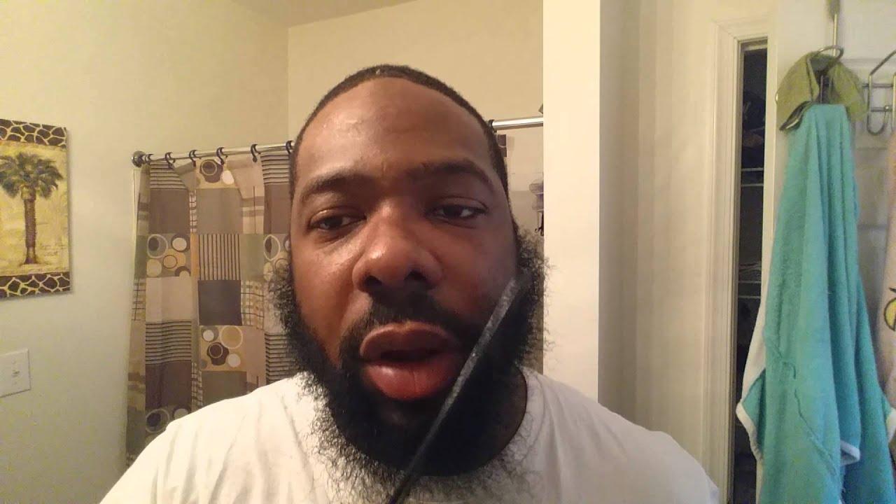 Blow Drying The Beard And Using Beard Moisturizer