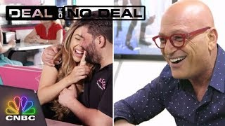 Howie Mandel Tears Up Surprising A Couple With A Chance To Win Big | Deal Or No Deal | CNBC Prime