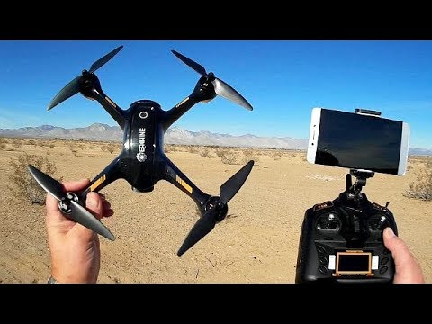 Eachine EX1 Brushless GPS 1080p Camera Drone Flight Test Review