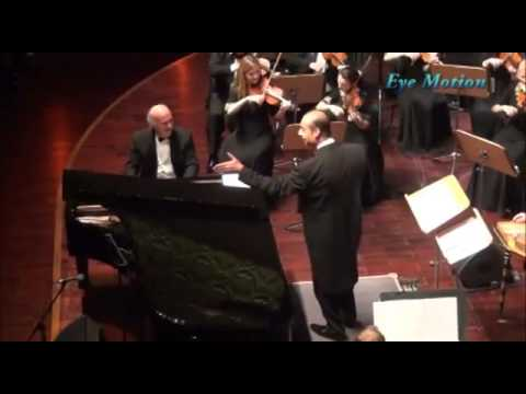 Omar khairat and maestro  Nader Abbasy in Doha concert 2012