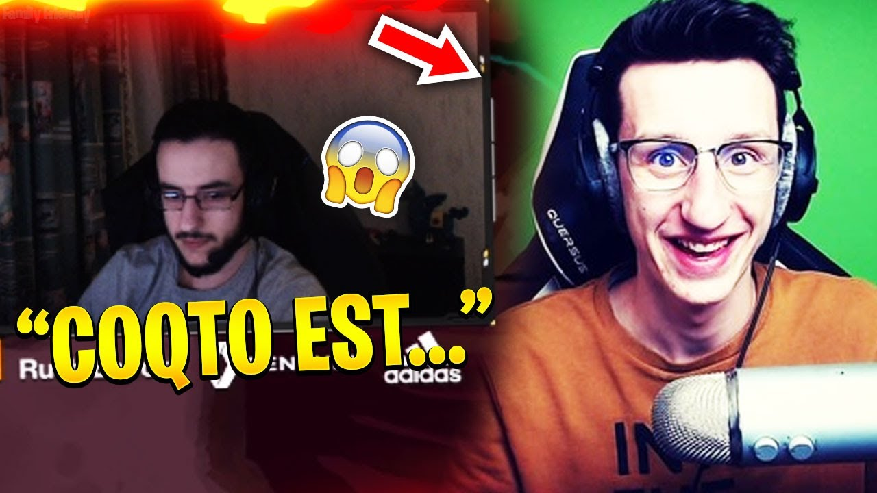 AIRWAKS CLASH COQTO EN PLEIN LIVE 😮🔥🔥 - Best Of Fortnite France