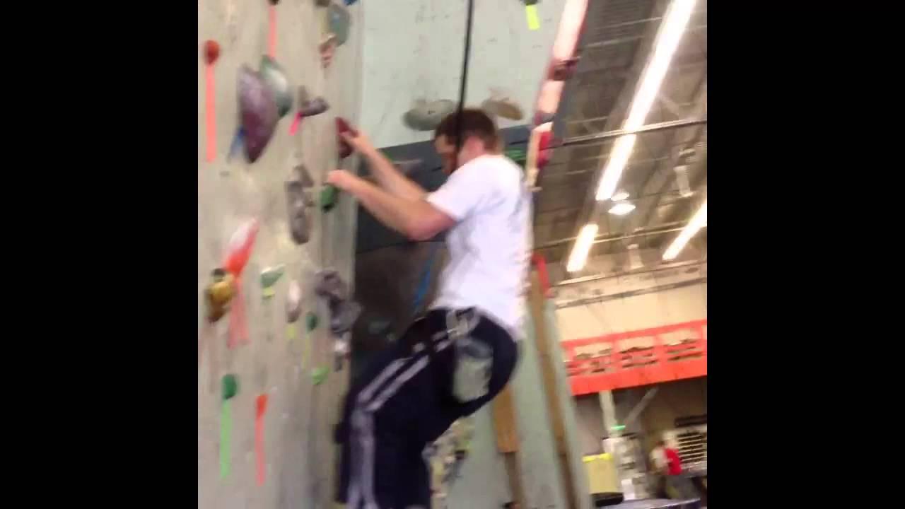 Date Day Rock Climbing Gym - YouTube