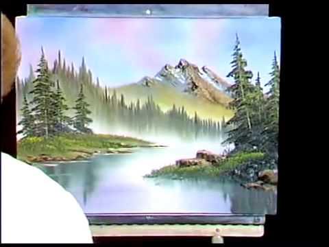 bob-ross---gemälde-morgen-nebel---malerei-video