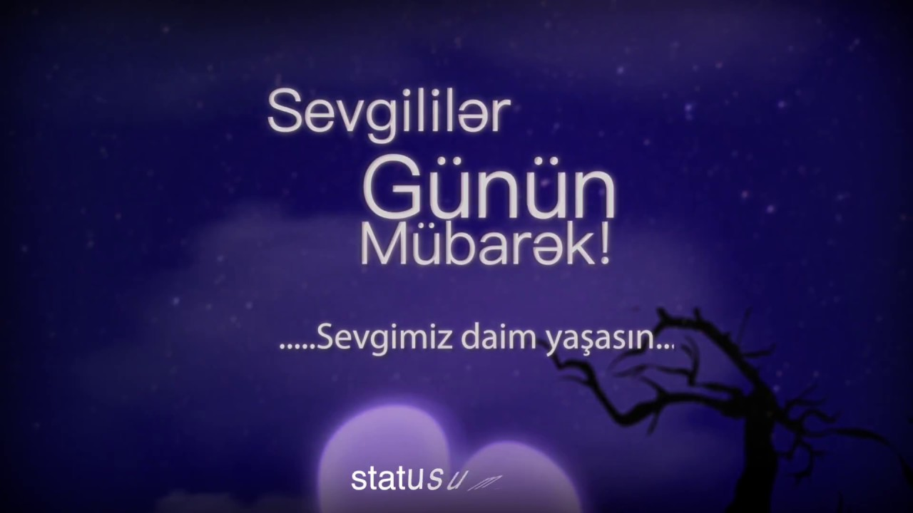 Sevgililer Gununə Aid Təbrik Video Youtube