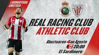 🔴 LIVE | Real Racing Club 2-1 Athletic Club ⚽️ I Amistoso Video