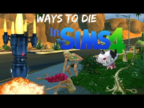 Ways To Die: In The Sims 4 All Sims 4 Deaths