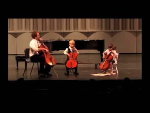 Cello Ensemble performs 'Rigadoon'