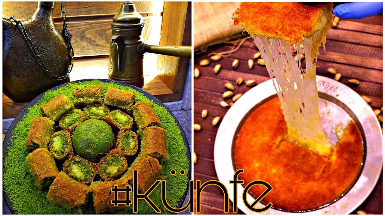 Turkisk cuisine   sweet Turkish  künafa   Turkish Food