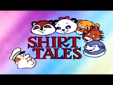 Shirt Tales - A Song Saves The Park - Retro 80s Vintage Cartoon Musical Cassette Album