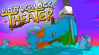 BEST NARRATOR EVER! - BattleBlock Theater Co-Op Gameplay!