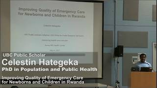 Celestin Hategeka: Improving Quality of Emergency Care for Newborns and Children in Rwanda