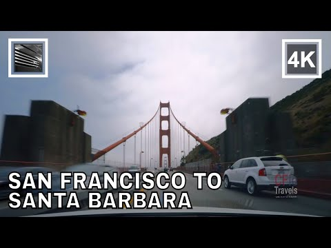 Driving Highways - U.S. Highway 101 and Interstate 5 - San Francisco to San Diego, California - 1/2