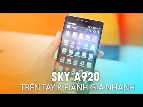 dReviews - Đánh giá nhanh siêu phẩm Sky A920 mới nhất của Pantech phone