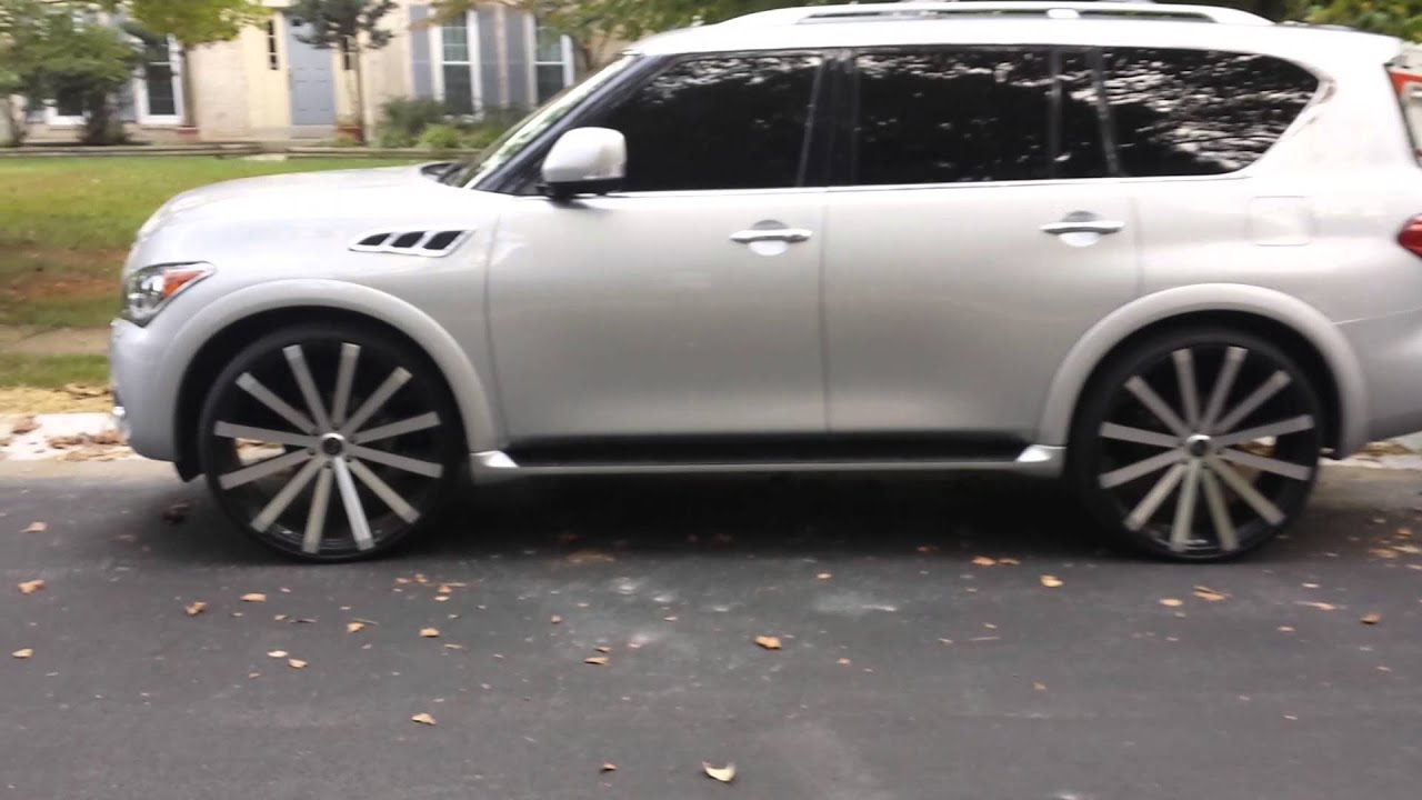 Infiniti qx56 on 28s youtube infiniti qx56 on 28s vanachro Gallery