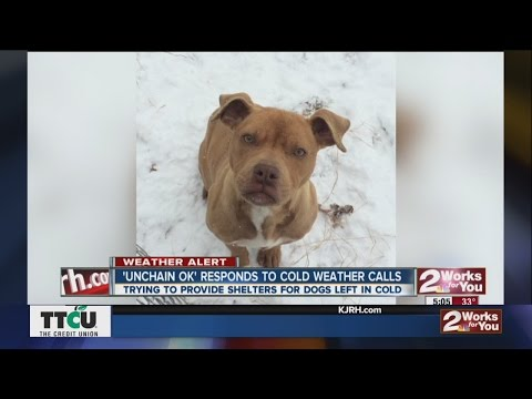 """""""Unchain OK"""" Responds to Cold Weather Calls"""