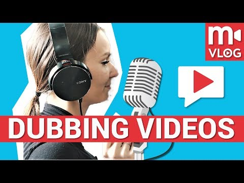 How to dub a movie, TV show or YouTube video