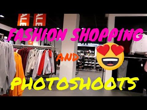 Fashion shopping and fashion shoots.
