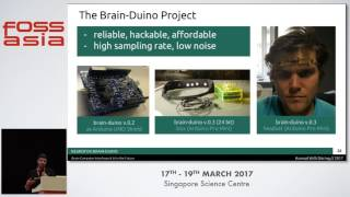 The Brainduino Project, Brain-Computer Interfaces & AI in the Future - Konrad Willi - FOSSASIA 2017