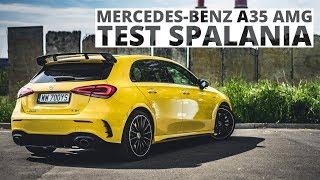 Mercedes-Benz A35 AMG 2.0 306 KM (AT) - pomiar zużycia paliwa