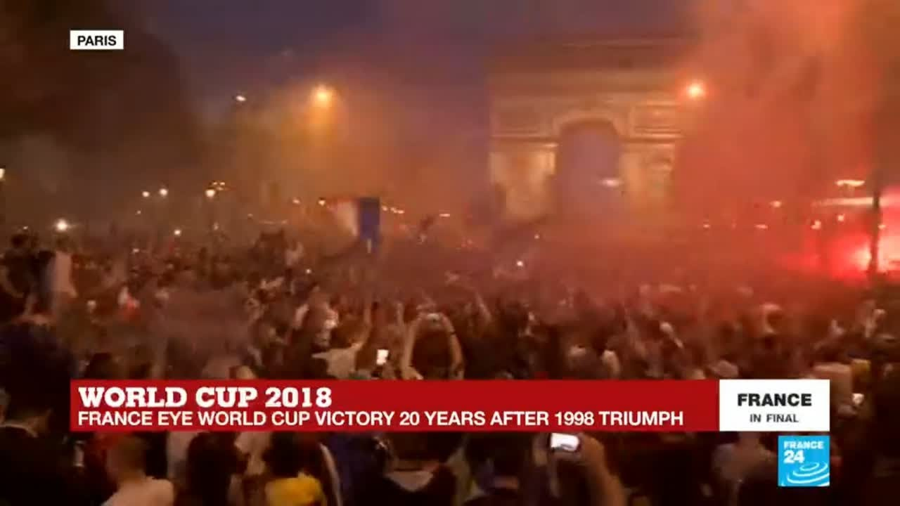 World Cup: Celebrating France Victory Cuts Across Politics And Other Differences