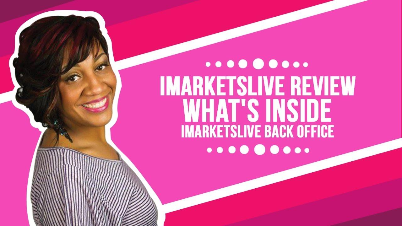 IMarketsLive Review - What's Inside IMarketsLive Back Office - YouTube