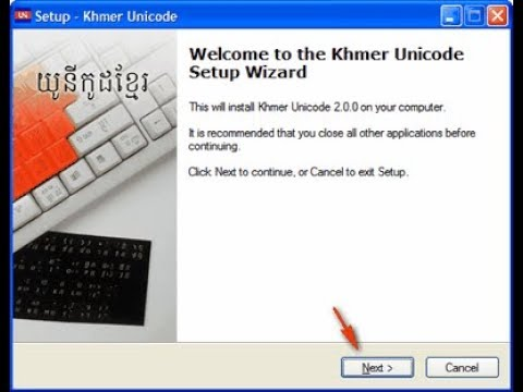 How to install and setting Khmer Unicode Keyboard in windows 10