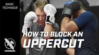 How to Block an Uppercut | Striking Basics Series | Kickboxing