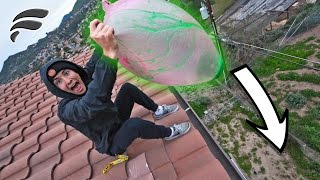 SLIME FILLED WUBBLE BUBBLE DROPPED 40FT
