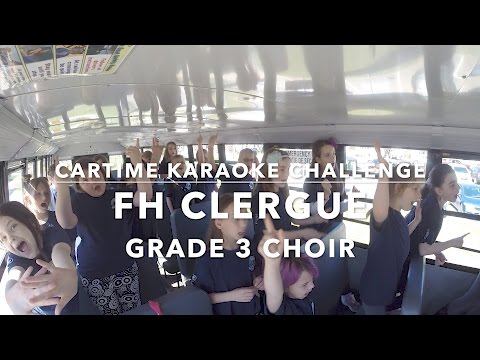 Cartime Karaoke Challenge: FH Clergue