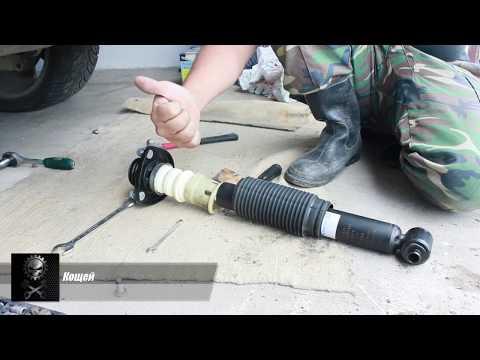 Замена задних амортизаторов BMW X5 E53