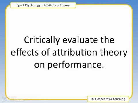 attribution theory question and answer cards  attribution theory question and answer cards
