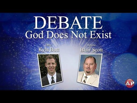 Debate: God Does