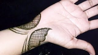 Simple and Easy Mehndi Design tutorial #mehndi