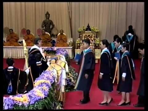 พิธีพระราชทานปริญญาบัตรแก่บัณฑิตรามคำแหง รุ่นที่ 39  วันที่ 3 มีนาคม 2557 คาบบ่าย