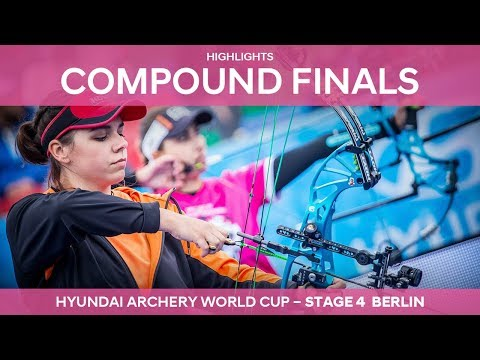 Compound Highlights | Berlin 2017 Hyundai Archery World Cup stage 4