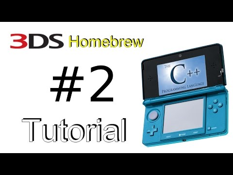 3DS Homebrew Tutorial #2 - Touch Screen Input