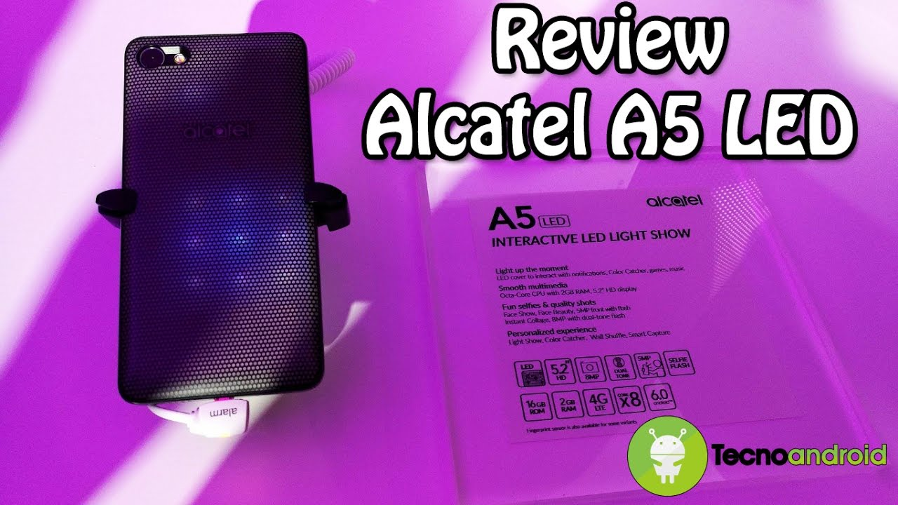 alcatel a5 led video anteprima dal mwc 2017 youtube. Black Bedroom Furniture Sets. Home Design Ideas