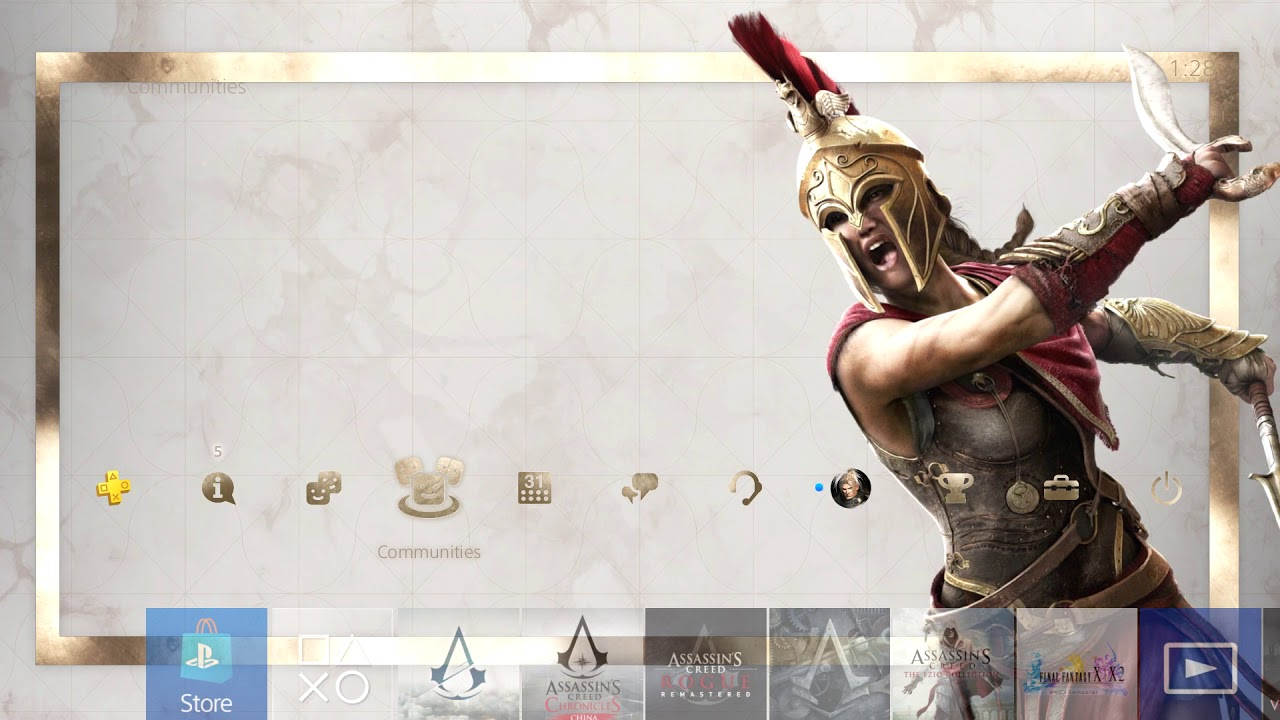 Assassin S Creed Odyssey Dynamic Ps4 Theme Free Download Youtube