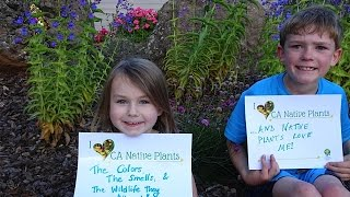 Thank you for supporting CNPS! (Why we love native plants)