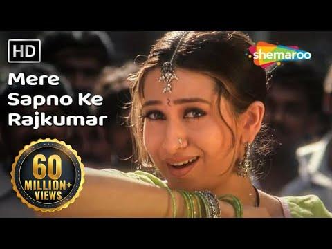 Mere Sapno Ke Rajkumar  Jaanwar Songs  Akshay Kumar  Karisma Kapoor  Alka Yagnik  Dance