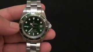видео копии часов rolex