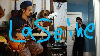 kensukeshoji #jazzfiddler #newyork Reunion in this quarantine time #4. Kensuke Shoji and Akasu Sho sit and wrote this song over the night by La Seine in 2011 ...
