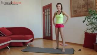 Упражнения для похудения живота у девушек в домашних условиях