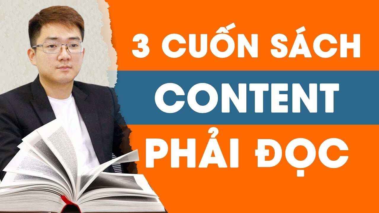 Nghề viết 05 – 3 cuốn sách người mới vào nghề CONTENT phải đọc.