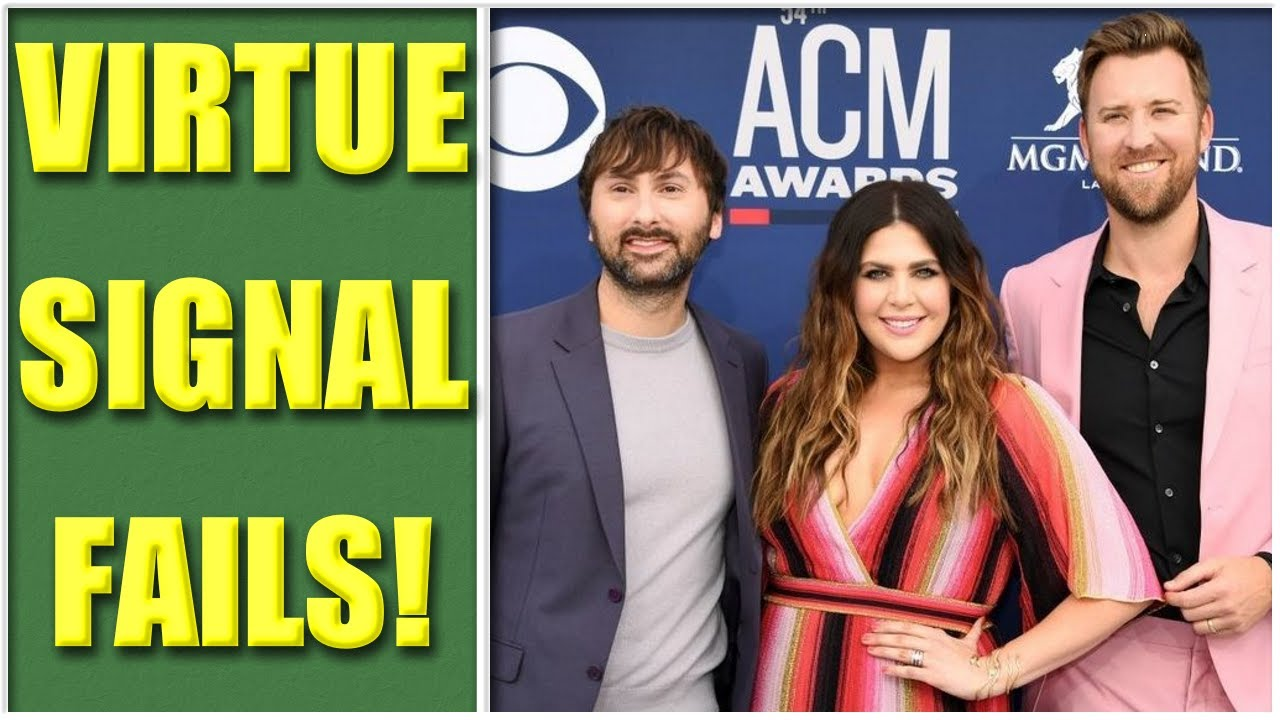 Lady Antebellum GETS WOKE Tries to Steal Name From Black Singer