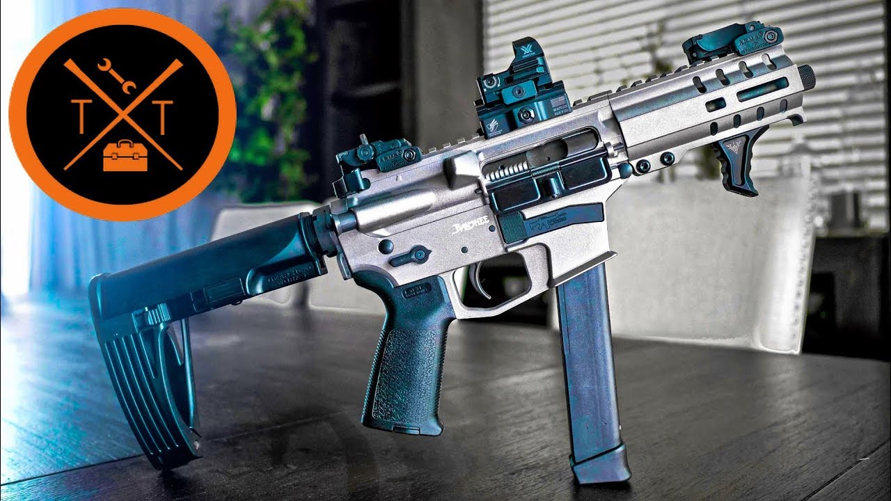 ★★ Best AR 9mm Pistol for Home Defense?? // CMMG BANSHEE