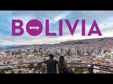 WOW Air Travel Guide Application | La Paz, Bolivia